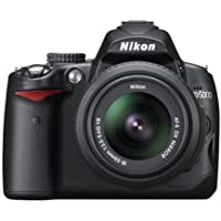Nikon D5000 Digital SLR Camera with 18-55mm VR Lens Kit (12.3MP) 2.7 inch LCD