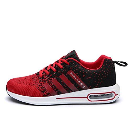 ZIBOBOA スポーツ スニーカー メンズ シューズ 超軽量 通気 ウォーキング 男女通用 運動靴 3色あり