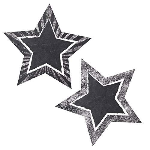 Twinkle Twinkle You're A Star! Chalkboard Stars Cut-Outs