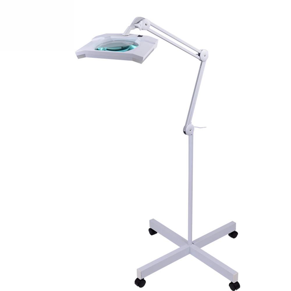 2019人気特価 LED虫眼鏡フロアスタンド虫眼鏡をつける歯科実験用具3X B07QBJ55Q7 5Xの大きい光学レンズ B07QBJ55Q7, 小平市:21680c9d --- agiven.com