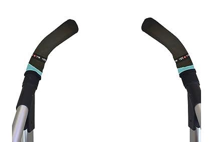 Tris&Ton Fundas empuñaduras verticales Modelo, empuñadura funda para silla de paseo cochecito carrito carro - Diseños variados - (Tris y Ton)