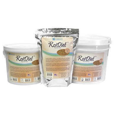 Complete Aquatics Koidiet Growth And Color Premium Pond Fish Food Tub, 10 lb by Complete Aquatics by Complete Aquatics