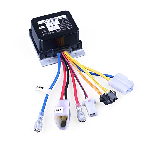 LotFancy 12V Controller for Razor Power Rider 360 Electric Tricycle, 7 Connectors, Replacement Part Number W20136401015, Model ()