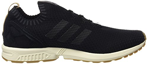 adidas Herren ZX Flux Primeknit Sneakers Schwarz (C Black / C Black / Gum4)