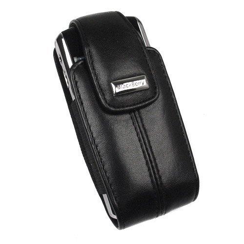 OEM Blackberry 8100 8120 8130 8110 Leather Holster HDW-15994-001