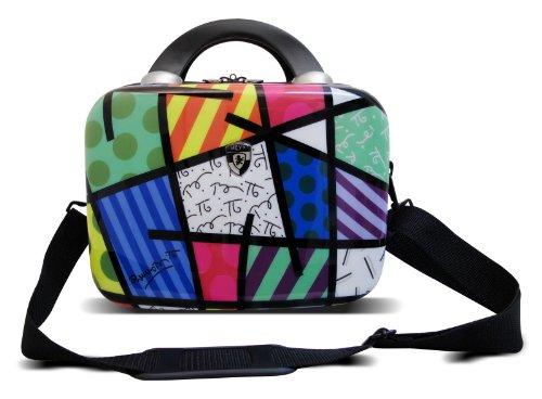 Heys USA Luggage Britto Landscape Hard Side Beauty Case, Multi-Colored, One Size