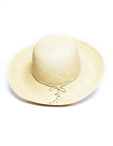 Beige Lanikai Panama Hat by Jasmin Noir