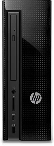 HP Slimline 270-p033w Desktop Tower, Intel Celeron G3930 CPU, 4GB RAM, 500GB HDD Windows -