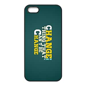 change 2 iPhone 5 5s Cell Phone Case Black yyfD-377776
