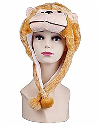 3df5953abdb Image Unavailable. Image not available for. Color  VISKEY Cute Unisex  Cartoon Animal Winter Hat Fluffy Plush Warm Cap