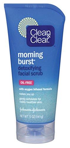 Clean & Clear Scrub Morning Burst Detoxifying Facial 5 Ounce (145ml) (6 ()