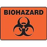 Biohazard Sign - SGN537-130-ALM