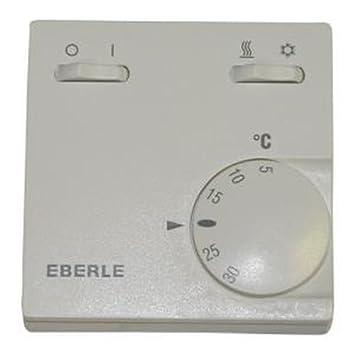 Eberle; RTR-E 6732 (Más opciones clic: aquí); Termostato con interruptor on-off y frío-calor: Amazon.es: Bricolaje y herramientas