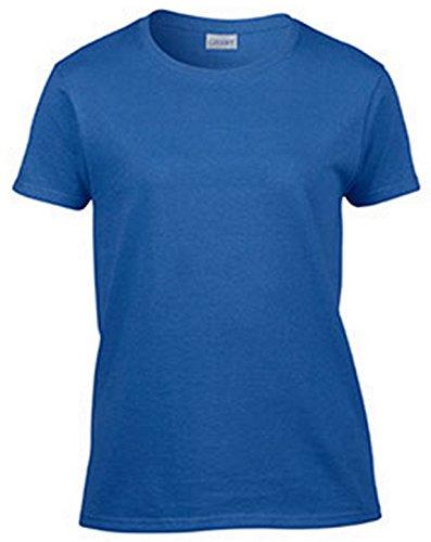 Gildan Ultra Cotton Ladies' T-Shirt, Royal, XX-Large - Gildan Ladies Tee
