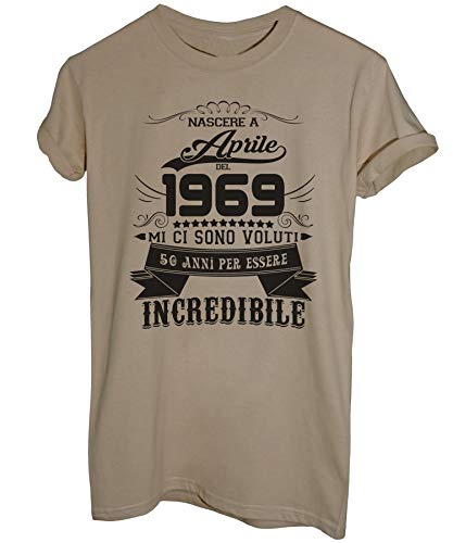 Essere Image Anni Sabbia Incredibile Del Ad Eventi 50 2019 1969 Aprile T Compleanno Nato Per shirt rv7rqf