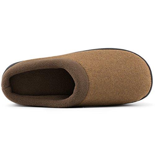 De Laine Hommes Hometop Été Mémoire glissement De Tissu Printemps D'intérieur Anti À Mousse Chameau Respirant Pour Chaussures Maison Pantoufles qXnIw0w1x