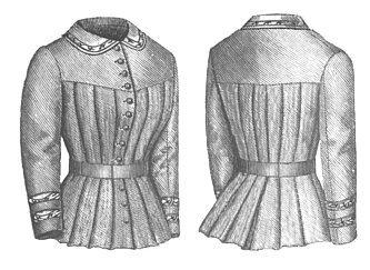 1880s dress styles - 1