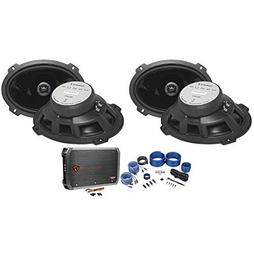 Package: (2) Pairs of Rockford Fosgate P1692 6x9