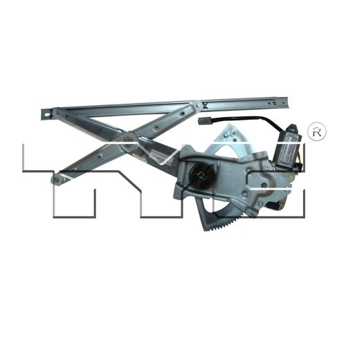 Go-Parts OE Replacement for 1995 - 2003 Ford Explorer Power Window Motor And Regulator Assembly - Front Right (Passenger) Side - (Sport + Sport XLS + Sport XLT) 3L2Z 7823208 AA FO1351157 ()