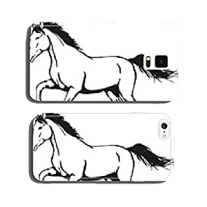 wild horse cell phone cover case Samsung S6