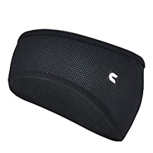 Woreach Unisex Moisture Wicking Fleece Mesh Fabric Running - Sport Headband