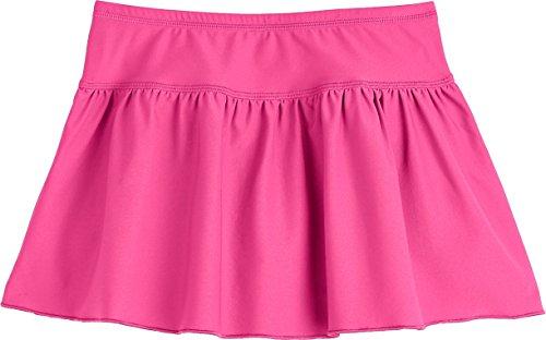 Coolibar UPF 50+ Toddler Girls' Swim Skirt - Sun Protective (3T- Aloha Pink) (Skirt Stretch Reversible)