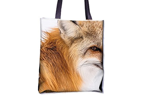 totes tote tote printed professional tote best bags professional bags popular large popular Winter totes tote large tote best allover bags Red Fox Snow bag womens' bags Wildlife wX6xqYYTU