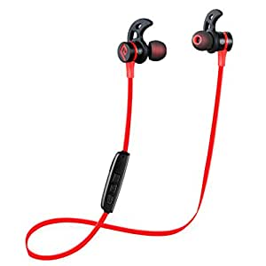 bluetooth headphones parasom a1 magnetic v4 1 wireless stereo bluetooth earphones. Black Bedroom Furniture Sets. Home Design Ideas