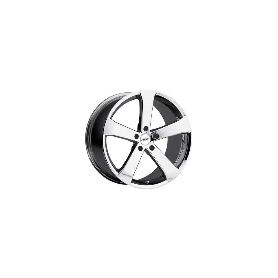 20 Inch 20x8.5 TSW wheels VORTEX Chrome wheels rims Automotive