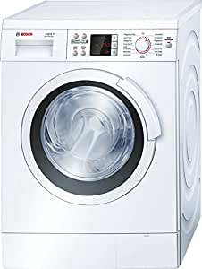 Bosch Logixx 8 VarioPerfect - Lavadora (A + + +, 1.03 kWh, 189 kWh, 600 mm, 590 mm, 842 mm) Color blanco