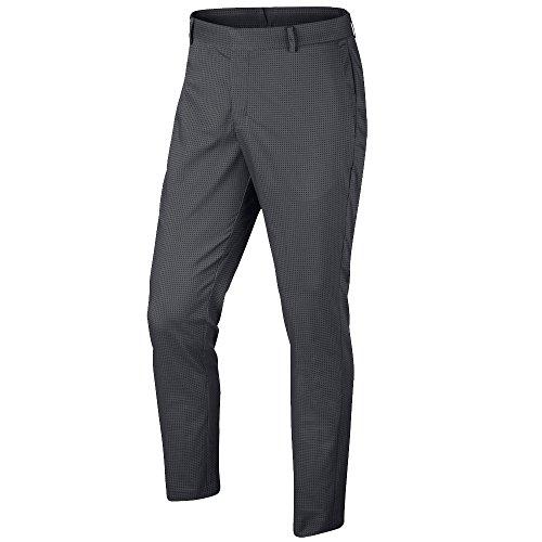 NIKE Modern Fit Novelty Golf Pants 2017 Dark Grey/Black 32/32 (Nike Modern Pants Fit)