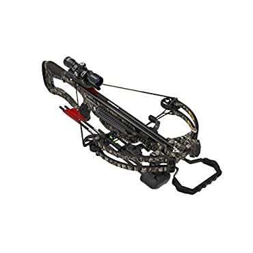 Barnett 78113 380 FPS Whitetail Hunter Pro Crossbow, Trubark Camo, Left/Right