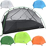 Hyke & Byke Zion 2P Tent (Lime Green) - 3 Season, Lightweight Design for Backpacking, Bike Packing, Thru Hiking, and Camping