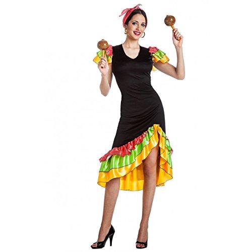 CUALQUIER DISFRAZ - Disfraz rumbera talla m-l: Amazon.es: Juguetes ...