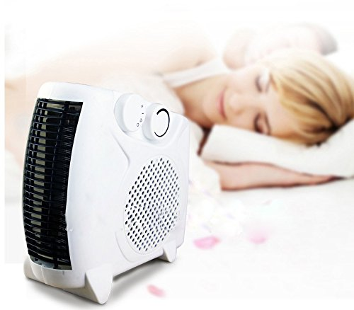 Kingmys 1500w portable heater fan heater space heater for Heat setting for home