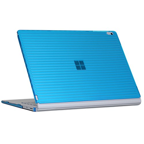 iPearl mCover Hard Shell Case for 15-inch Microsoft Surface Book 2 Computer (MS-SBK2-15 Aqua)