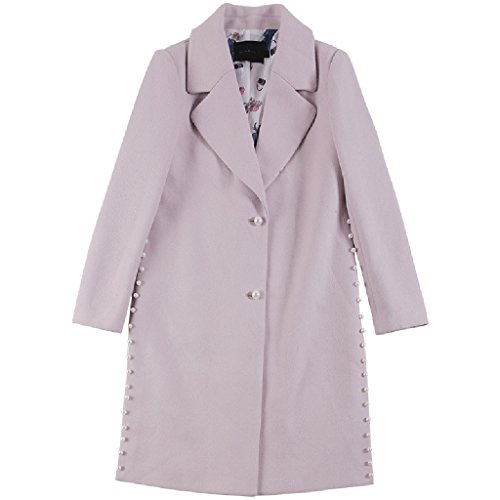 Il nuovo autunno e inverno modo delle donne 's di lana cappotto lungo doppio - Petto Women' S Cappotto ( dimensioni : Xl )