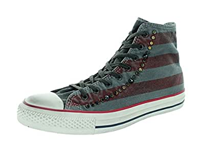 Converse Chuck Taylor All Stars Washed Shoes - Well Worn Flag Turtledove Chili Pepper - UK 4