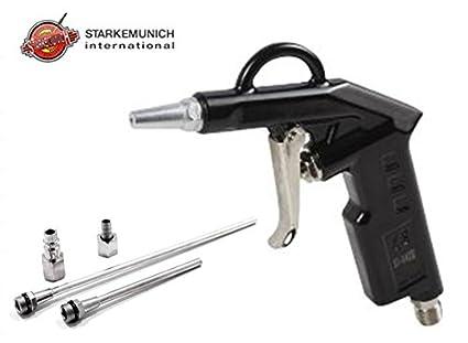 Pistola para compresor aire Aire con accesorios kit 5 piezas