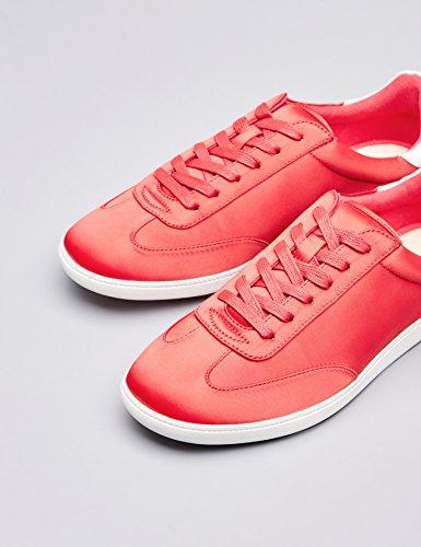 Donna FIND Inserto Rosso Sneaker con Red a Contrasto Xxnr4xHZ