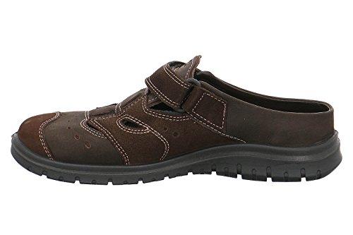 Jomos Zapatos de Cordones de Piel Para Hombre Marrón Marrón