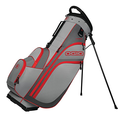 State Golf Stand - OGIO 2018 Press Stand Bag, Red