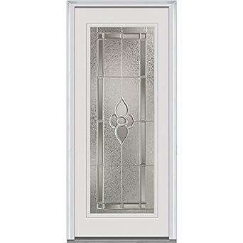 National Door Company EFS686MNN30CPRL Fiberglass Smooth, Primed, Left Hand  In Swing, Exterior