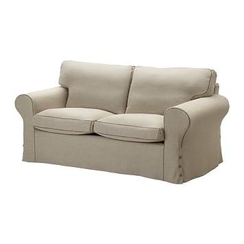 IKEA EKTORP   Cover Two Seat Sofa, Risane Natural
