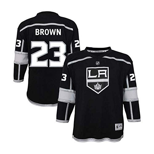 (Brown Los Angeles Kings NHL Jersey for Kids Youth Mens Black)