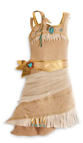 [Disney Store Pocahontas Costume Size Small 5/6 - 5T: Indian Princess Dress] (Pocahontas Costumes For Kids)