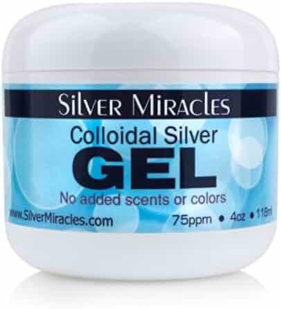 Colloidal Silver Gel - 4oz