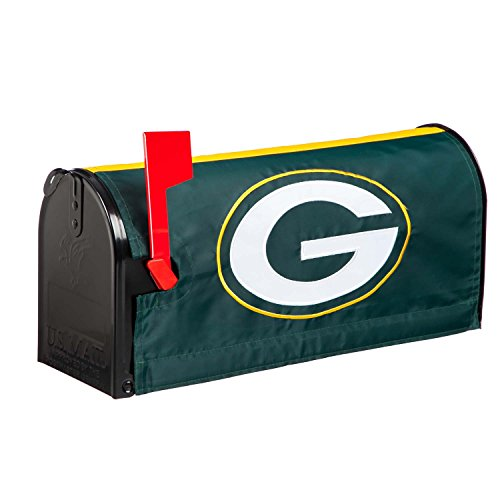 Mailbox Cover Team (NFL Bay Packers 2MBC3811Green Bay Packers, Mailbox Cover, Green)