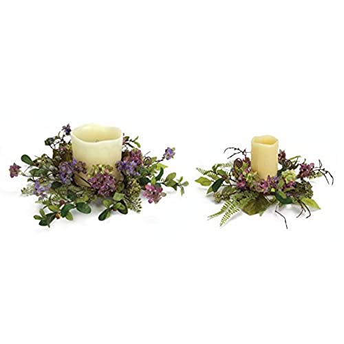 Flower candle rings amazon flower candle rings mightylinksfo