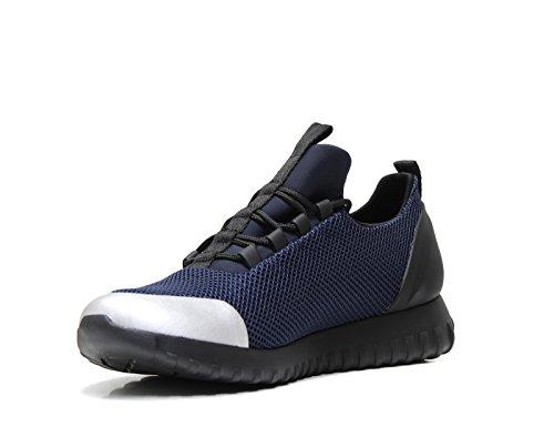 brushed Zapatillas Ron Calvin Metal Klein Marine Mesh Bleu Para Hombre 1wFCAq